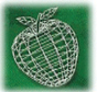 logo for Wayland Union Education Foundation. Green apple