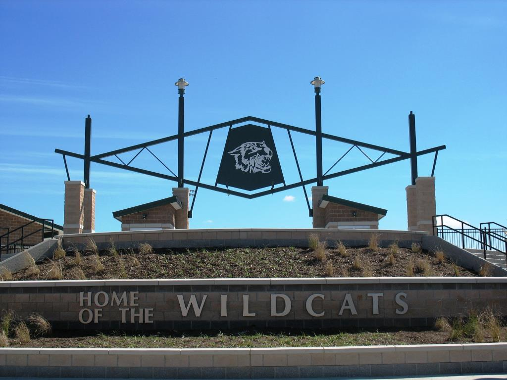 wayland  stadium entrance