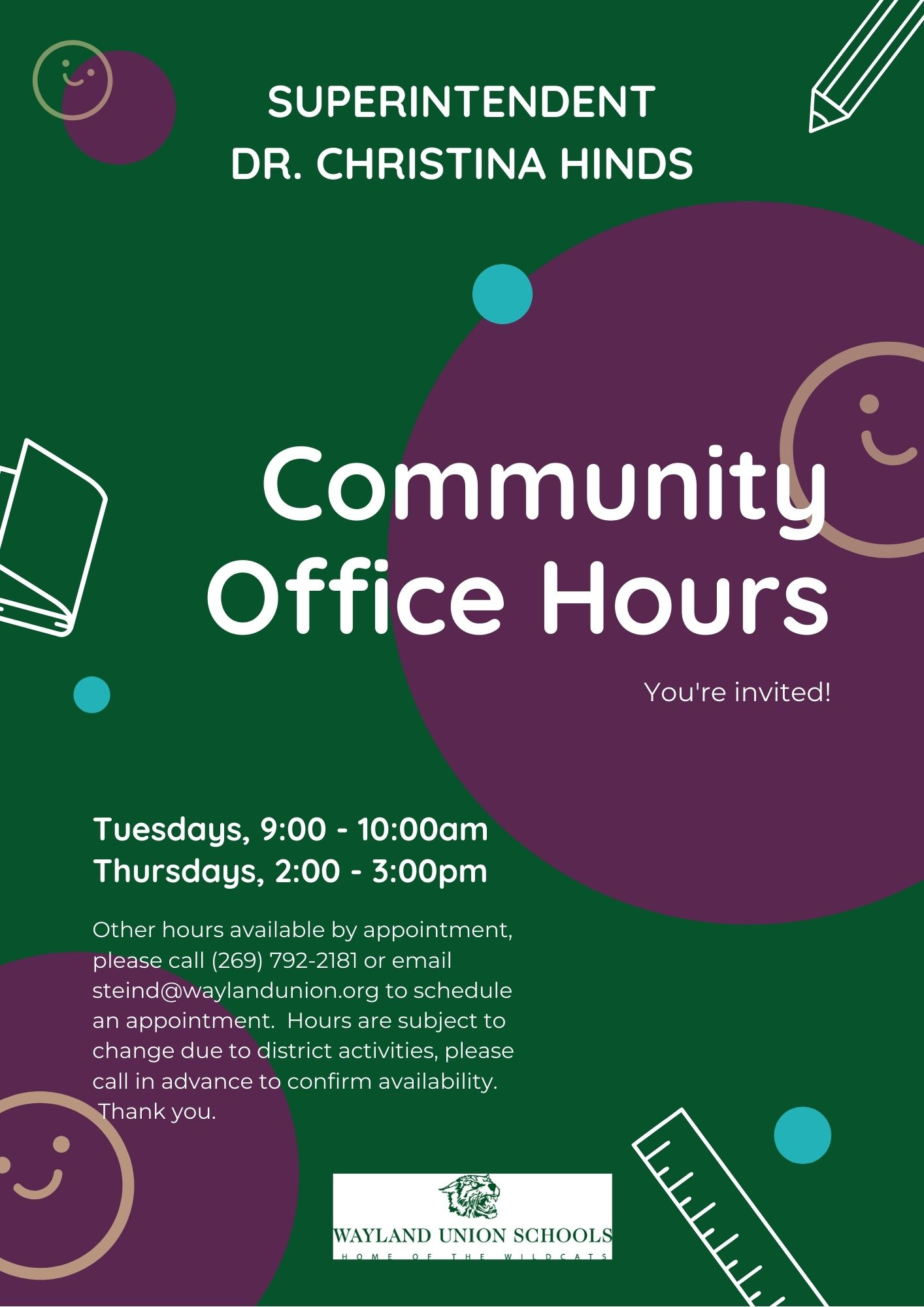 Community Office Hours info